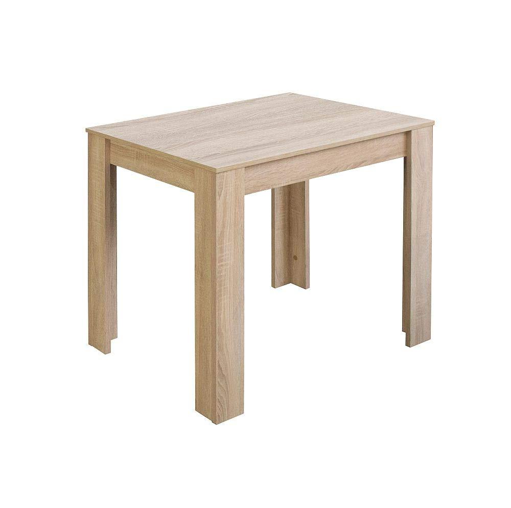 Storado  Esstisch Pit 0566 80x60 Eiche sägerau Küchentisch Tisch Esszimmertisch