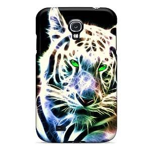 Excellent Design White Tiger Phone Case For Galaxy S4 Premium Tpu Case