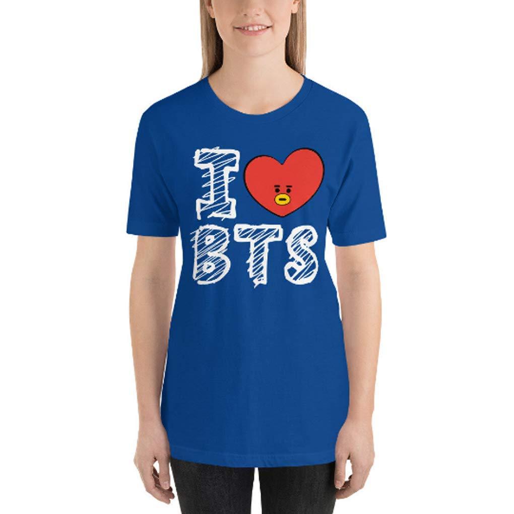 BTS Army BTS Kpop I Love BTS Short-Sleeve Unisex T-Shirt