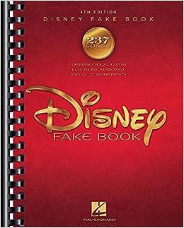 the disney fake book hal leonard corp 9781495070358 amazon com
