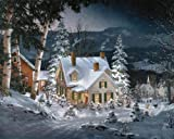 White Mountain Puzzles Friends in Winter – 1000 Piece Jigsaw Puzzle
