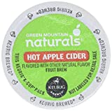 keurig k cups hot apple cider - Green Mountain Naturals Hot Apple Cider, K-Cup Portion Pack for Keurig K-Cup Brewers, 24-Count (Pack of 2)