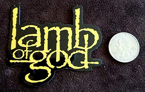 Lamb of GOD STICKER Phone/Laptop/Skateboard/IPAD/Tablet/HYDROFLASK/Backpack