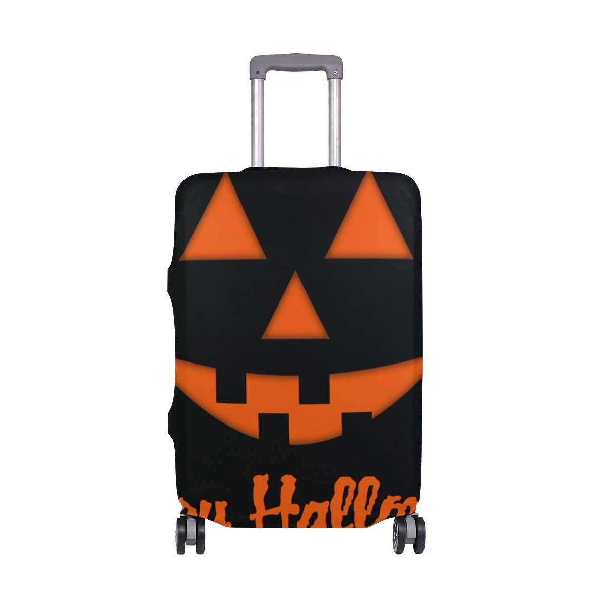 Travel Luggage Cover DIY Prints Protector Suitcase Baggage Fit 18-32 inch - Halloween Love
