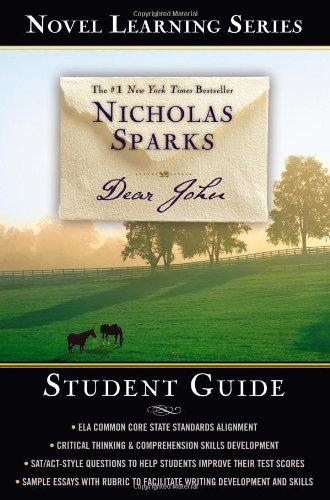 Dear John (Novel Learning Series) by Grand Central Publishing