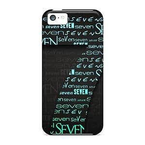 CC WalkingDead Perfect Tpu Case For Iphone 5c/ Anti-scratch Protector Case (se7en)