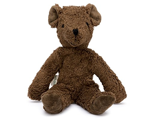 - Senger Stuffed Animals - Teddy Bear - Handmade 100% Organic Toy (Brown - 12 Inches Tall)
