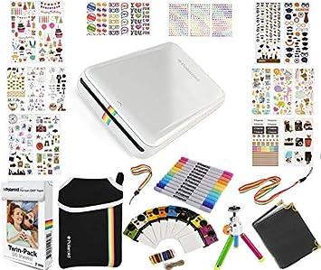 Polaroid: pack de regalo ZIP de impresora portátil + papel ZINK (20 hojas)