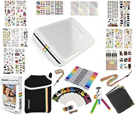 Polaroid: Pack de Regalo Zip de Impresora portátil + Papel ...
