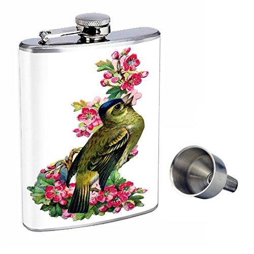 正式的 ビンテージ鳥Perfection inスタイル8オンスステンレススチールWhiskey Flask Flask Funnel with Free Funnel d-006 d-006 B016XLGGMU, コトウラチョウ:35caac61 --- digitalmantraacademy.com