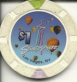 - $1 stratosphere vintage rare las vegas casino chip