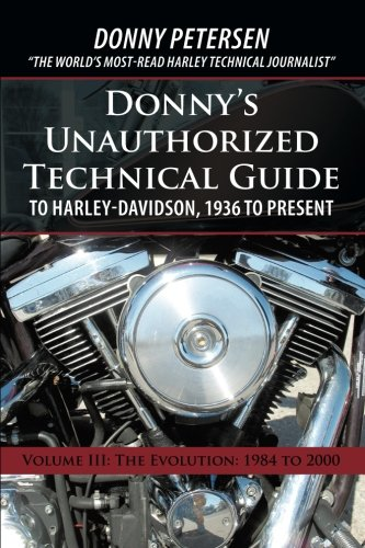 Donny'S Unauthorized Technical Guide To Harley-Davidson, for sale  Delivered anywhere in USA