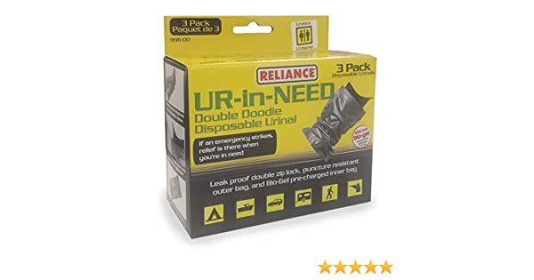 23.5-Ounce Reliance Products UR-in-Need Disposable Urinal