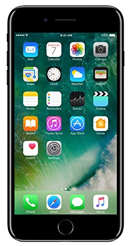 Renewed  Apple iPhone 7 Plus MN4V2HN/A  Jet Black, 128  GB