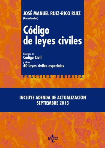 Descargar Libro Código De Leyes Civiles José Manuel Ruiz-rico Ruiz