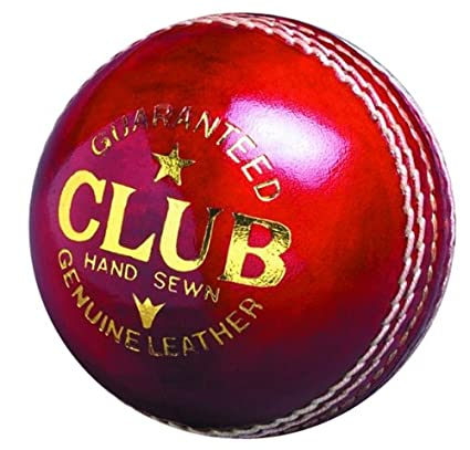 Readers Club - Pelota de cricket (piel cosida a mano, talla de ...