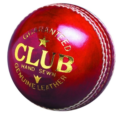 Readers Club Cricketball Senior, Leder, handgenäht, ca. 156 g handgenäht OSG