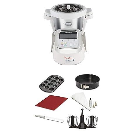 Moulinex i-Companion HF900110 - Robot de cocina Bluetooth 13 programas hasta 6 personas,