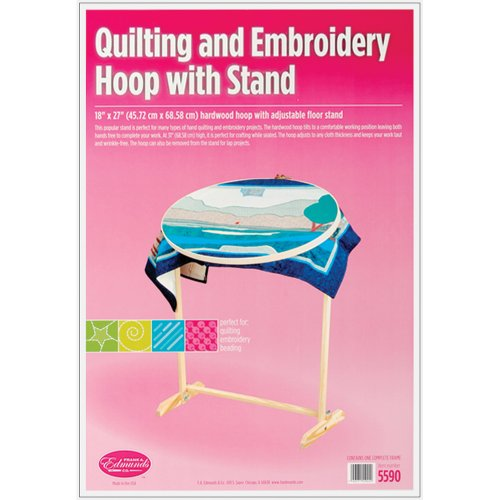 Edmunds Wood Hoop and Floor Stand