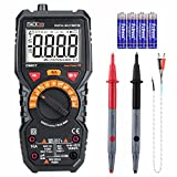 Digital Multimeter, Tacklife DM07 TRMS 6000 Counts Auto-Ranging NCV Multimeter with LCD Backlight for AC/DC Voltage & Current, Resistance, Capacitance, Diode, Frequency, Duty Cycle Tester