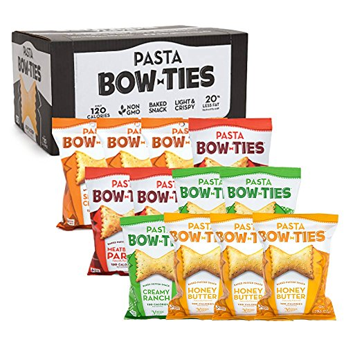 Price comparison product image Pasta Bow Ties Non-GMO Snack Size Variety 12-Pack