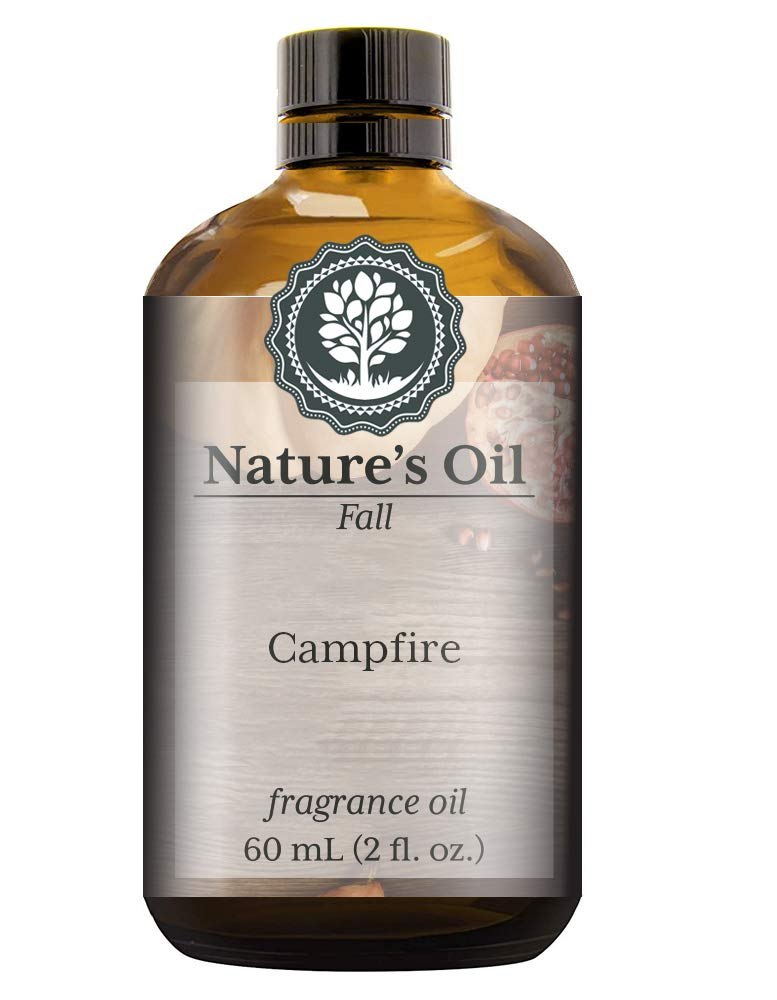 Campfire Fragrance Oil (60ml) For Diffusers, Soap Making, Candles, Lotion, Home Scents, Linen Spray, Bath Bombs, Slime