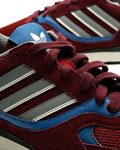 adidas Quesence, Scarpe da Fitness Uomo Rosso (Granat / Azutra / Negbás 000)