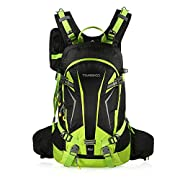 TOMSHOO 20L Cycling Backpack Lightweight Water Resistant Bicycle Bike Travel Camping Hiking Backpack Daypack with Rain…