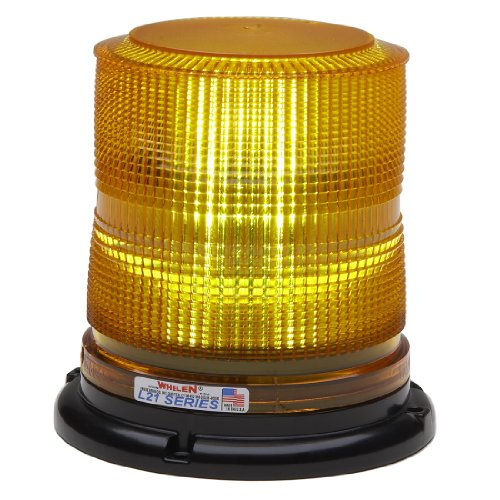 - Whelen Engineering L21 Series Super-LED Beacon - Permanent Mount, Amber