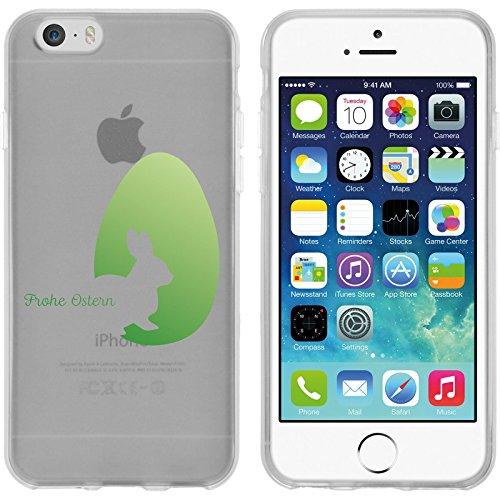PhoneNatic Case für Apple iPhone 6s / 6 Silikon-Hülle Ostern M2 Case iPhone 6s / 6 Tasche + 2 Schutzfolien