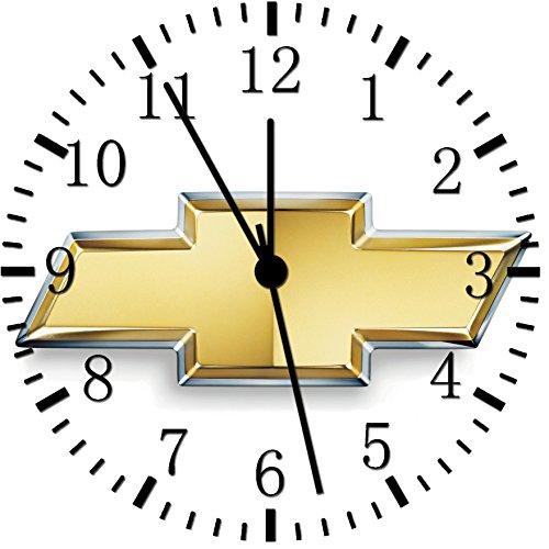 (Chevy Chevrolet Frameless Borderless Wall Clock W437 Nice for Gift or Room Wall Decor)
