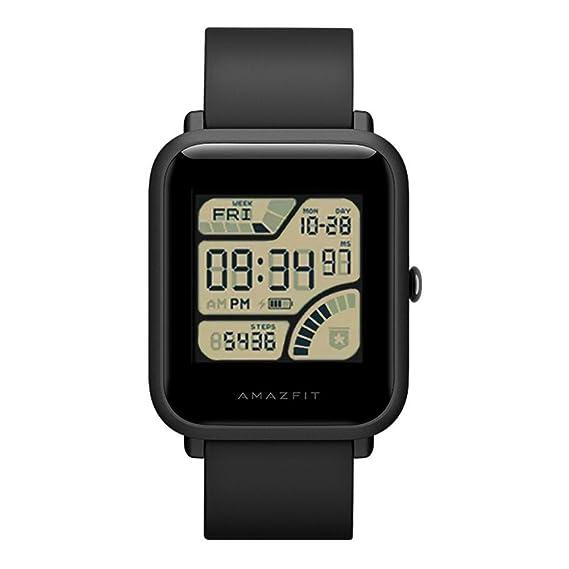 Prettygood7 - Reloj inteligente Xiaomi Huami Amazfit Bip Lite Youth Verison GPS+GLONASS Dual Mode Posición/Ejercicio Ritmo de Corazón/32 g: Amazon.es: ...