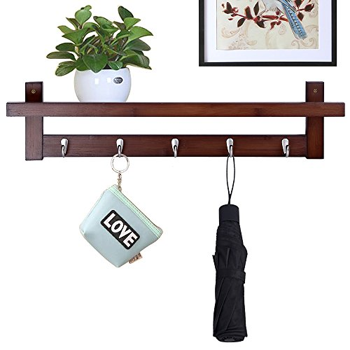 wood base garment rack - 8