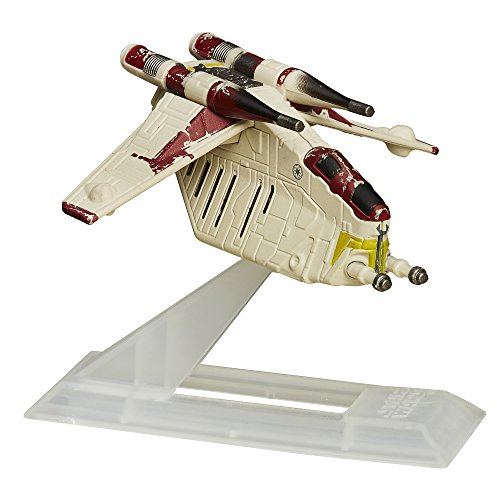 Star Wars: The Clone Wars Black Series Titanium Republic (Star Wars Clone Wars Gunship)