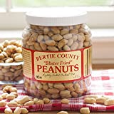 Bertie County Peanuts - Blister Fried Lightly Salted Cocktail Nuts - 30 Ounce Jar -
