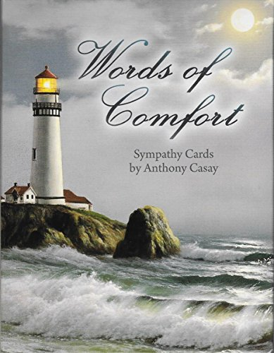 Words of Comfort by Anthony Casay  - Sympathy Note Card Asso