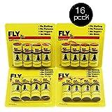 Paganl Sticky Fly Ribbons, Fly Paper Ribbon, Fly Catcher Ribbon, Eco-Friendly 100% Non-Toxic