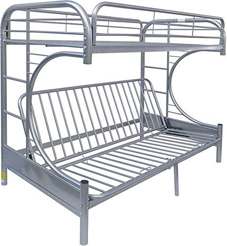 acme AC-02091W-SI Bed, Silver ()