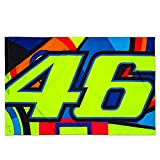 Valentino Rossi VR46 Moto GP Sun & Moon Flag Official 2018