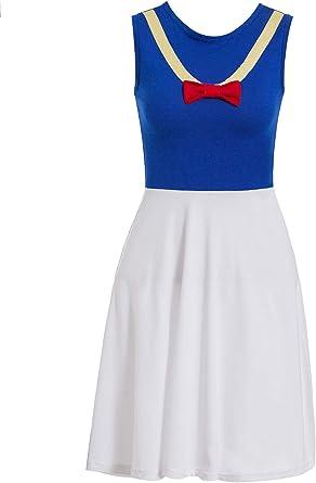 Disfraz de Pato Donald para Mujer, Disfraz de Halloween Cosplay ...