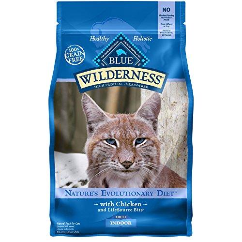 Blue Buffalo Wilderness Indoor Cat Food Bag, 5 lb.