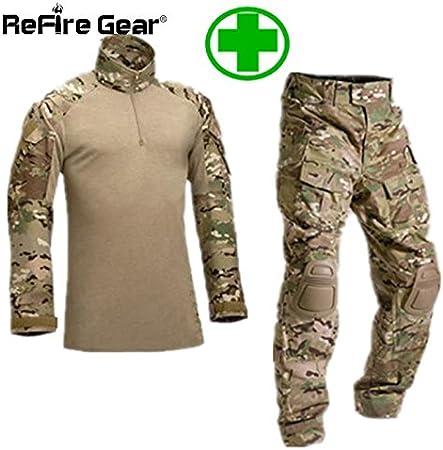 Digital baby Camisa de Uniforme Militar Táctica para bebé, Camuflaje, Camuflaje, Ropa de Airsoft, Camisa de Combate del ejército + Pantalones Cargo Rodilleras: Amazon.es: Hogar