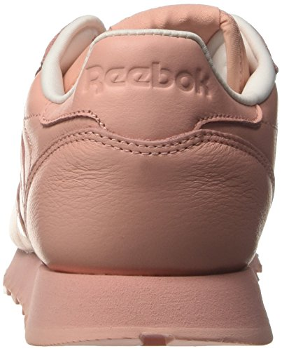Rosa Mujer Cl Reebok Pink Sneakers Lthr white Para patina Pastels FXwwYUx