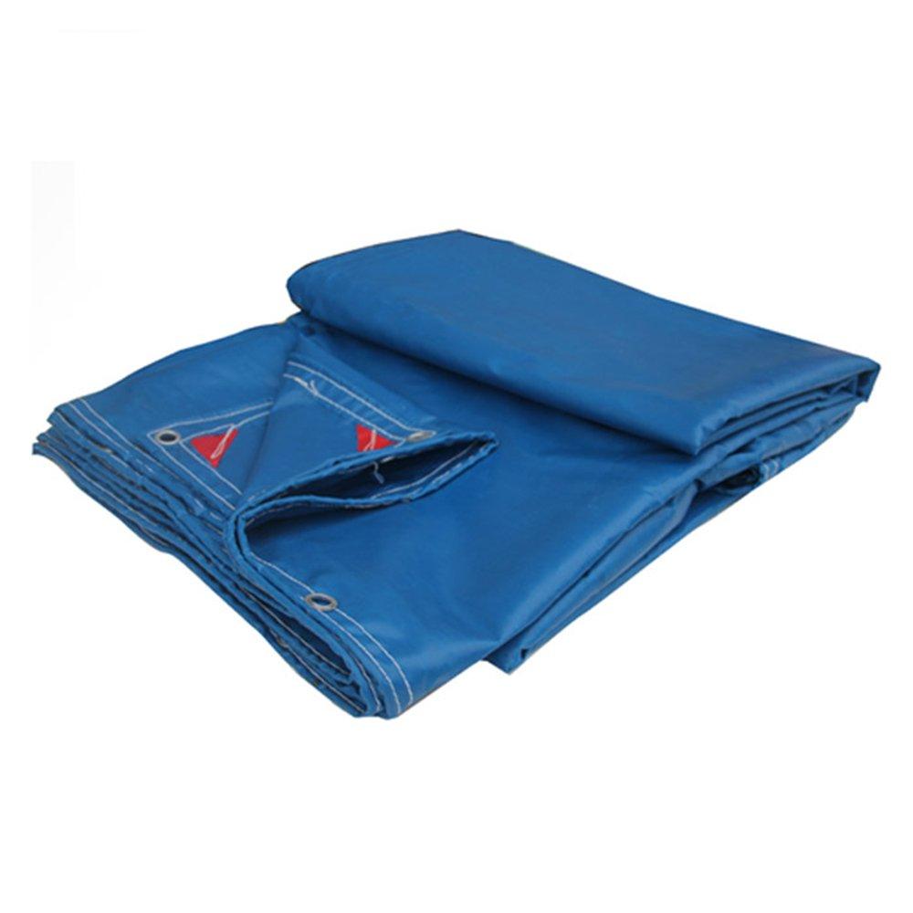 LQQGXL Thick PVC regendicht Sonnenschutz Plane LKW Abdeckung Poncho multifunktionale Schatten Tuch Wasserdichte Plane
