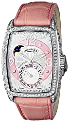 Armand Nicolet Women's 9633V-AS-P968RS0 TM7 Classic Automatic Stainless-Steel with Diamonds Watch