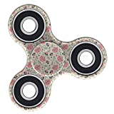 Fidget Toy EDC Hand Spinner Game ( Flores M?icos Pattern )