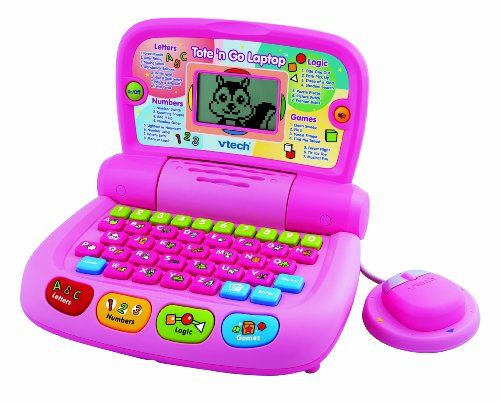 (VTech Tote and Go Laptop Pink - 2010 Version)