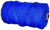 TOUGH-GRID 750lb Royal Blue Paracord / Parachute Cord - Genuine Mil Spec Type IV 750lb Paracord Used by the US Military (MIl-C-5040-H) - 100% Nylon - Made In The USA. 100Ft. - Royal Blue
