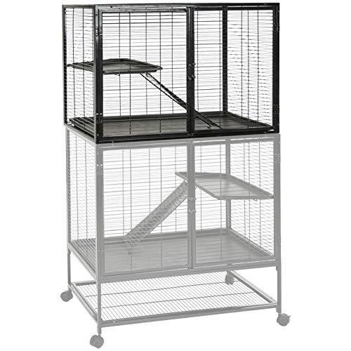 AmazonBasics Small Animal Metal Pet Cage, Single-Story