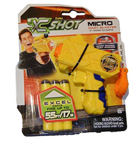 one-x-shot-dart-blasters-x-shot-micro-dart-blaster-smallest-foam-gun-with-long-range-shot-up-to-55ft